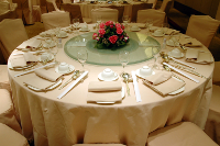 food-service-table